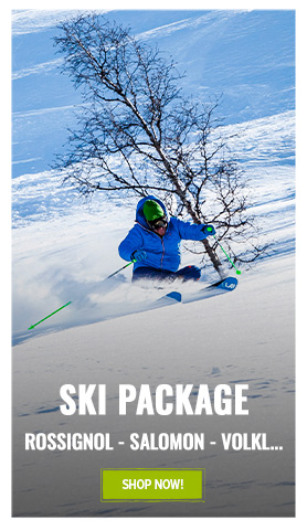 Discover our ski package range