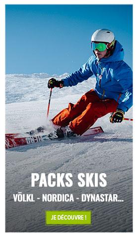 Le plus grands choix de packs skis : Völkl, Nordica, Dynastar, Head...