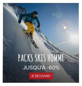 Packs skis homme jusqu'à -60% ! width=