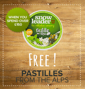 Free Pastilles from the Alps - Floral and plant flavoured