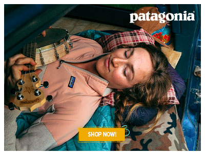 Patagonia brand new outdoor collection