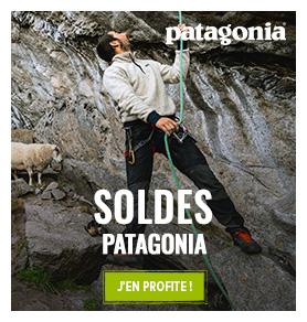 C'est les soldes Chez Patagonia ! Profitez de promotions jusqu'à -50% sur les produits de la marque
