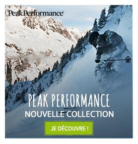 Nouvelle collection Peak Performance !