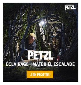 Découvrez les produits de la marque Petzl : Escalade et Alpinisme !