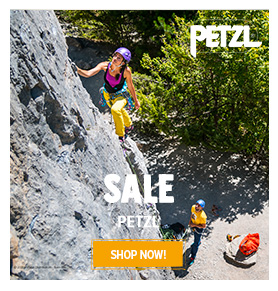 It's Summer sale on Petzl! Until 50% off on Petzl's products