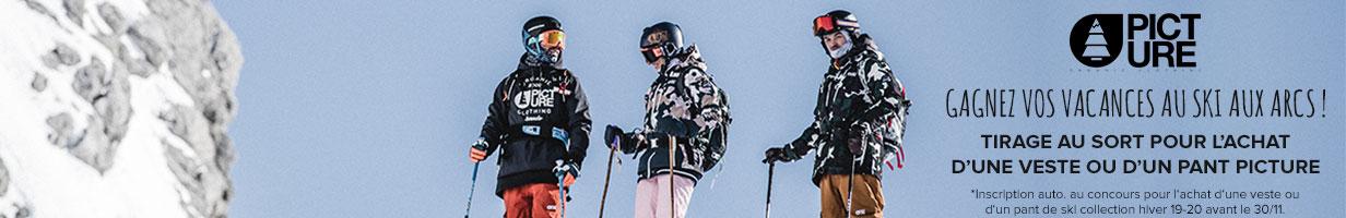 Vacances au ski à gagner avec Picture