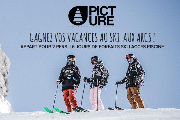 Une semaine au ski à gagner avec Picture !