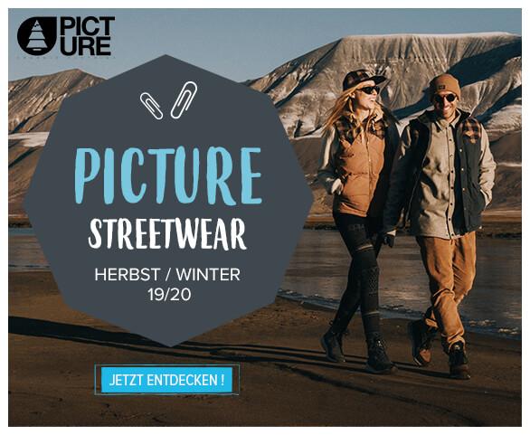 Entdecken Sie die Kollektion PIcture Streetwear 2020