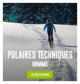 Découvrez notre gamme de polaires techniques homme !