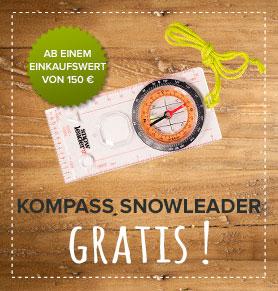 Kompass Snowleader für Zuhause gratis!