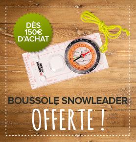 Une boussole snowleader offerte dès 150€ d'achat !