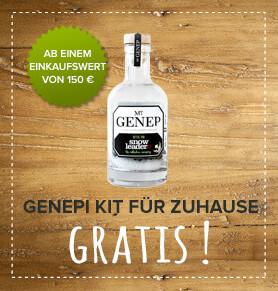 Genepi Kit für Zuhause gratis!