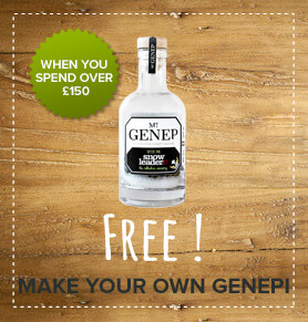 Free: Make your own genepi when you spend over £150