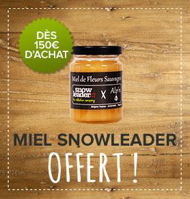 Un pot de Miel Snowleader offert dès 150€d'achat !