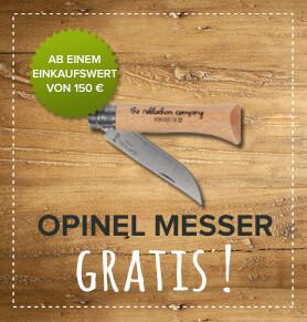 Opinel Messer gratis !