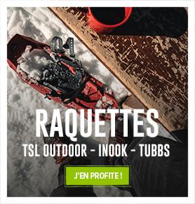 Profitez de notre large rayon de raquettes à neige : TSL, Inook, Tubbs…