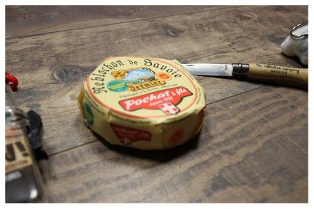 Snowleader Geschenk: Lokal produzierter Reblochon Käse