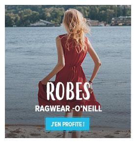 Découvrez notre rayon Robes Street Femme : Ragwear, O'Neill...