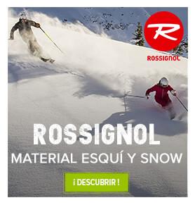 Material esquí y snow Rossignol