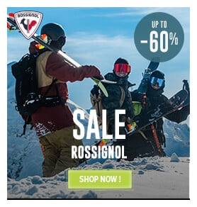 It's the Sale ! Come discover all the products on sale on Rossignol