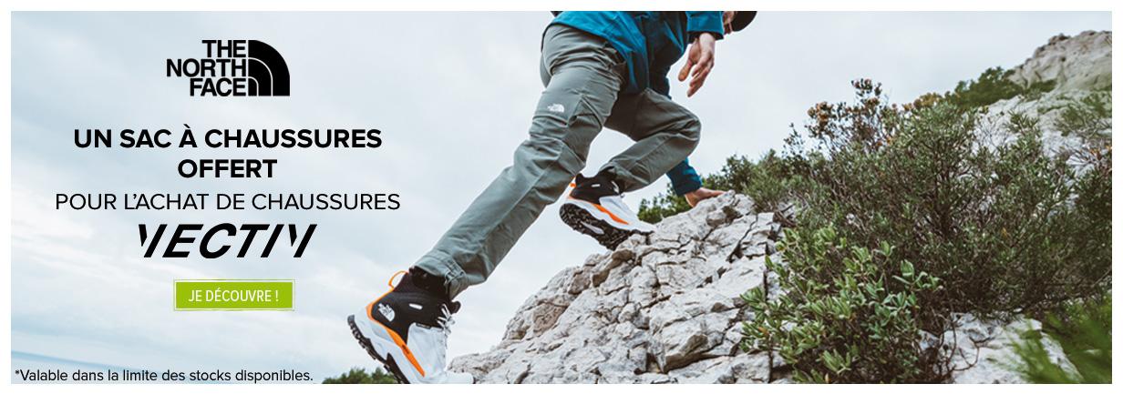 Découvrez les chaussures outdoor Vectiv The North Face !