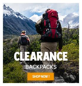 Hiking backpacks summer clearance !