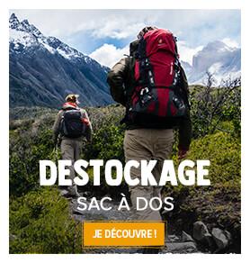 Découvrez notre gamme de Sacs à dos randonnée en destockage !