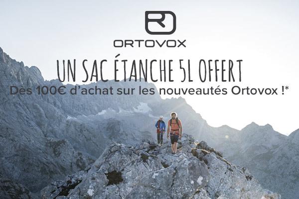 Stuff Pack offert pour 100€ d'achats sur les nouveautés été Ortovox
