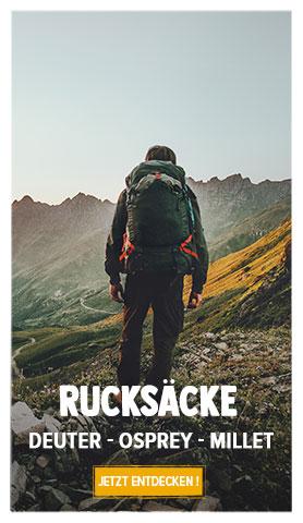 Jetzt entdecken Rucksacks : Deuter, Millet, Osprey…