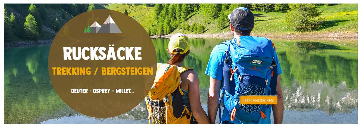Jetz entdecken : rucksäcke trekking/bergsteigen!