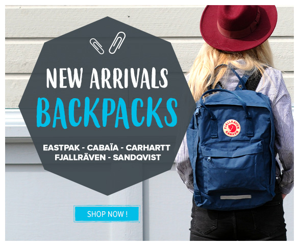 Come discover backpacks!