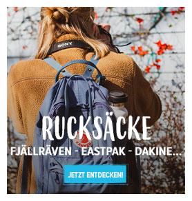 Jetzt Entdecken Rucksäcke : Fjällräven, Eastpak, Dakine...