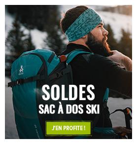 C'est les soldes d'hiver ! Profitez de promotions jusqu'à -70% sur les sacs à dos ski !