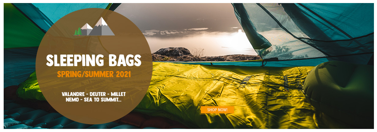 Come discover sleeping bags!