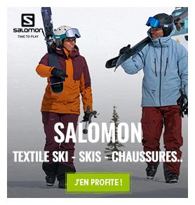 Découvrez notre collection Hiver Salomon : Ski, Chaussures de ski, Textile…
