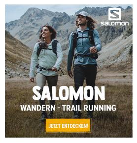 Entdecken Salomon : Wandern und Trail Running !