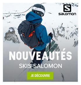 Découvrez toutes les nouveautés ski de chez Salomon !