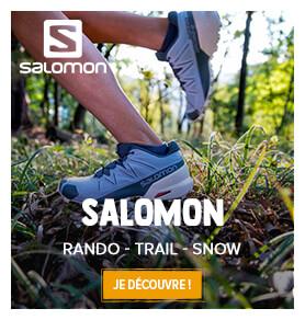 Découvrez les produits Salomon: Rando, Trail et Snow!
