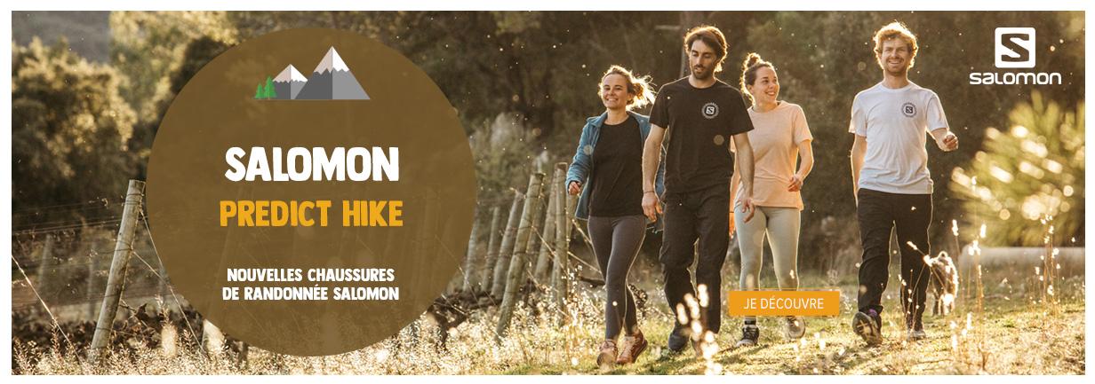 Découvrez les Predict Hike, nouvelles chaussures de randonnée Salomon !