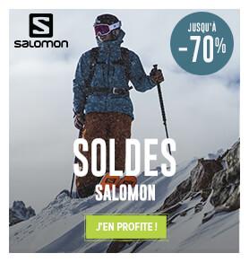 Découvrez l'ensemble des produits soldés Salomon  !
