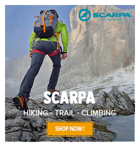Come discover our Scarpa's products !