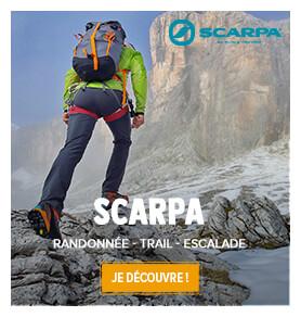 Découvrez l'ensemble des produits de la marque Scarpa !