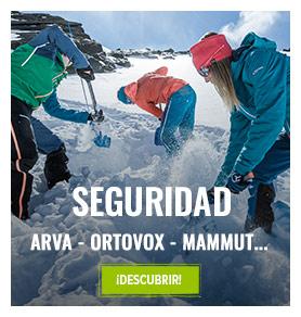 Seguridad avalanche : arva, Mammut, Ortovox...