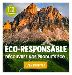 Une sélection complète de produits éco-responsables qui sent bon le respect de la nature !