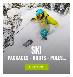 Special Clearance Selection: ski equipment up to 60% off!
