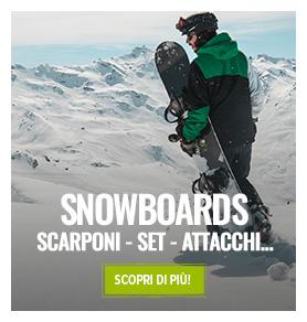 Selezione fine serie: scorpi i nostri migliori snowboard prodotti in fine serie!