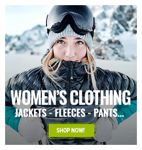 Special Clearance Selection: women's technical clothing up to 60% off!