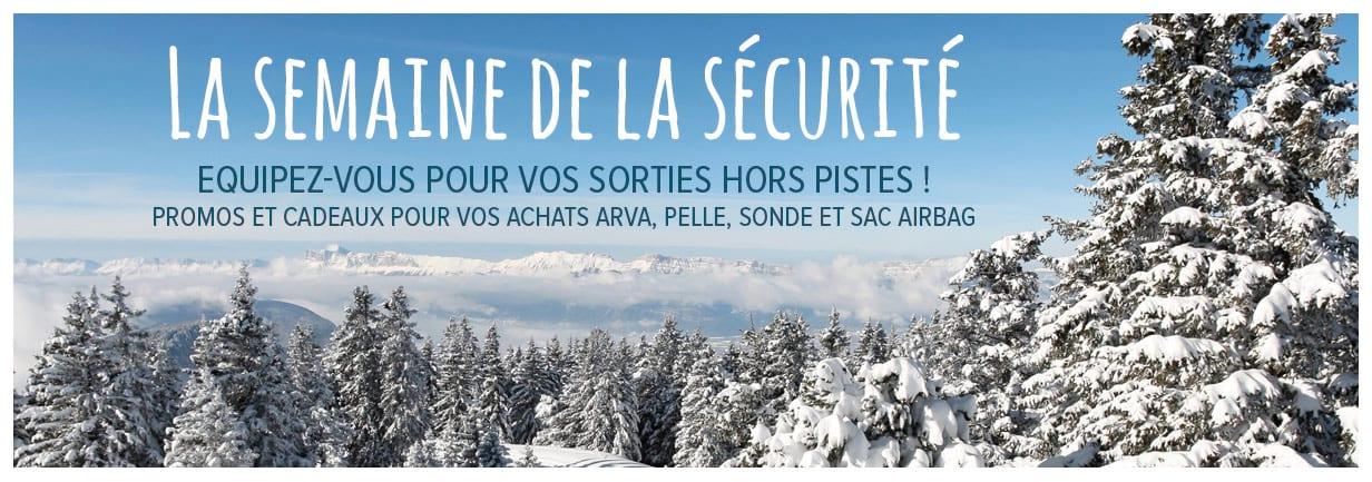 semaine de la sécurité avalanche
