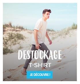 Découvrez notre gamme de T-shirts en destockage !