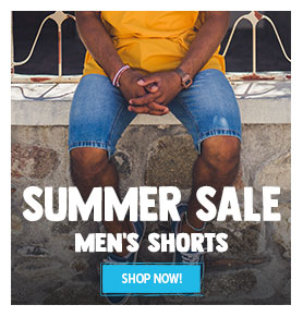 It's Summer sale! Come discover our Men's shorts assortment on sale